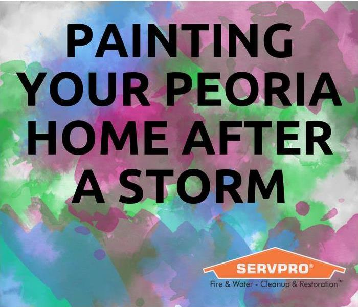 Storm Damage Painting Your Peoria Home After A Storm