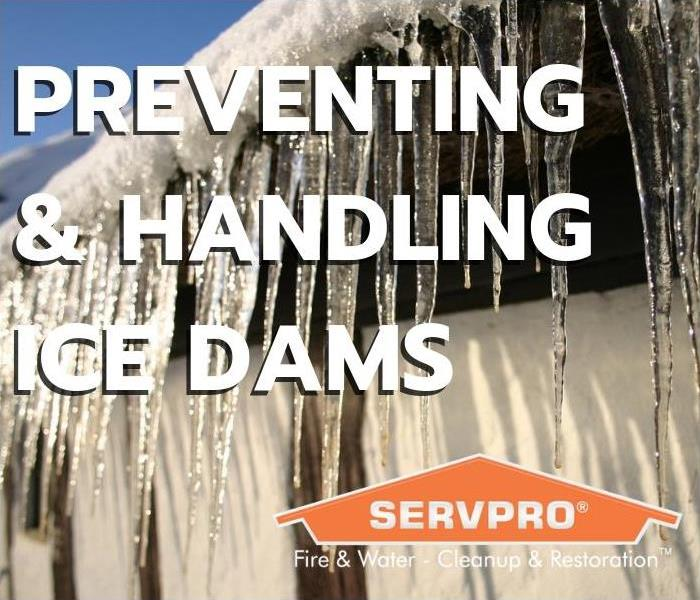 Water Damage Preventing & Handling Ice Dams
