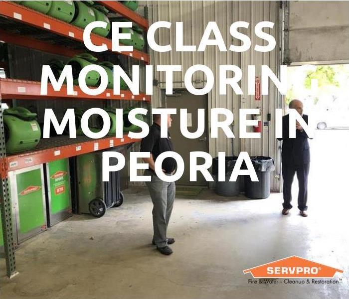 Community CE Class Monitoring Moisture In Peoria