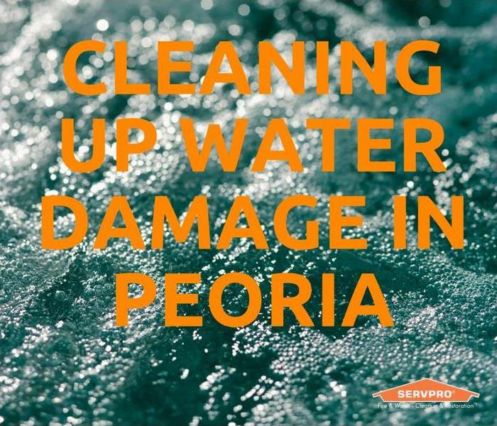 Water Damage Cleaning Up Water Damage In Peoria