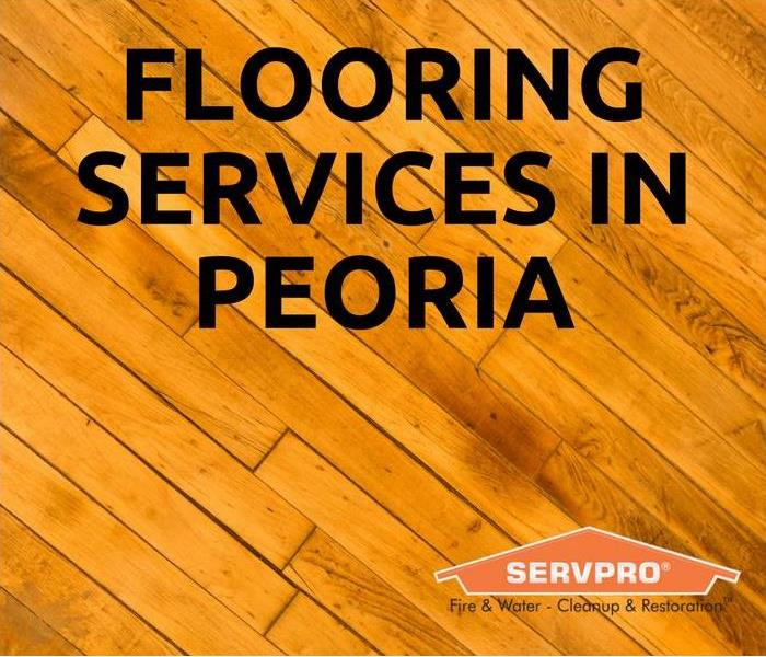 Water Damage Flooring Services In Peoria